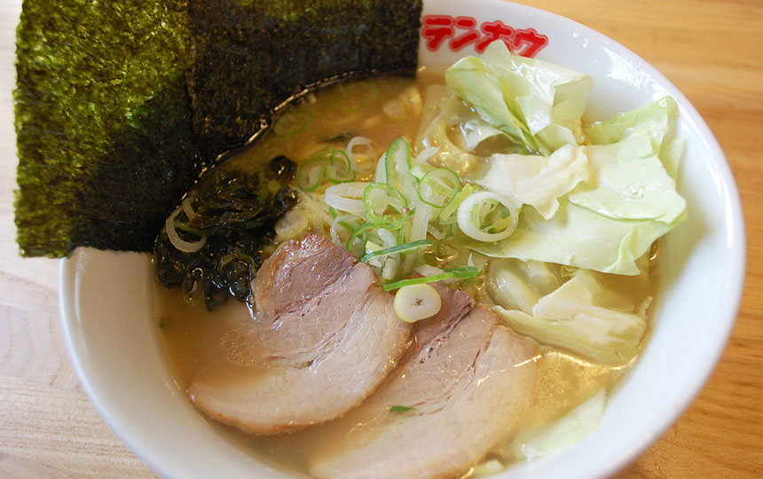 復活!とんこつ醤油ラーメン(中太麺)