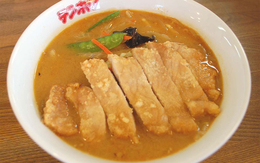 肉揚げ味噌タンメン