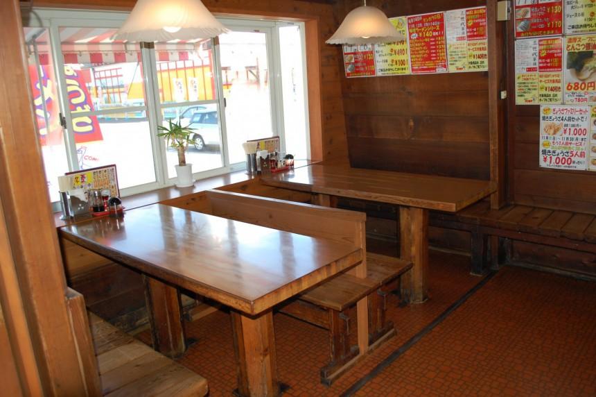 南松本 テーブル1