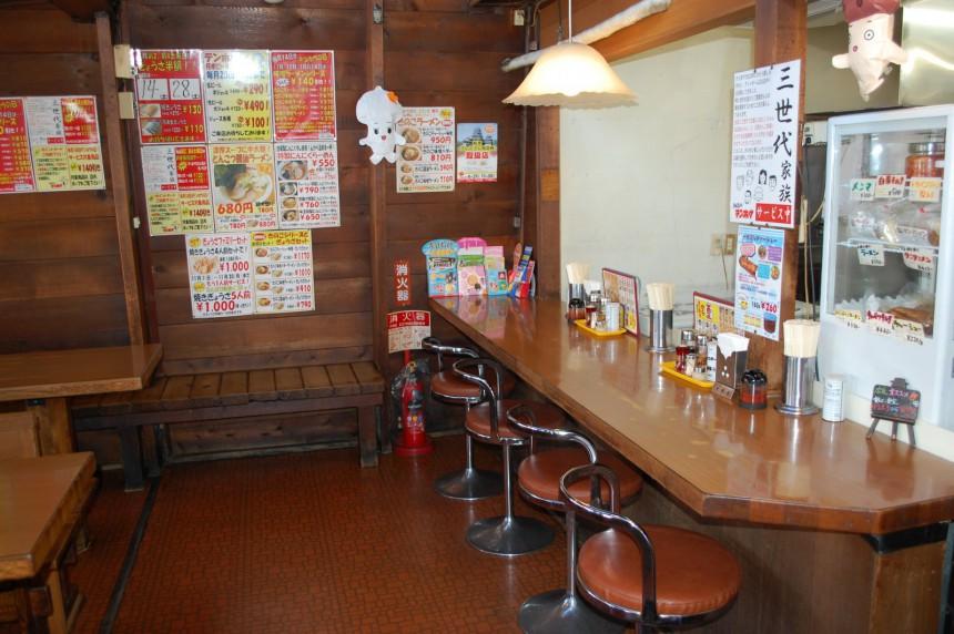 南松本 カウンター1
