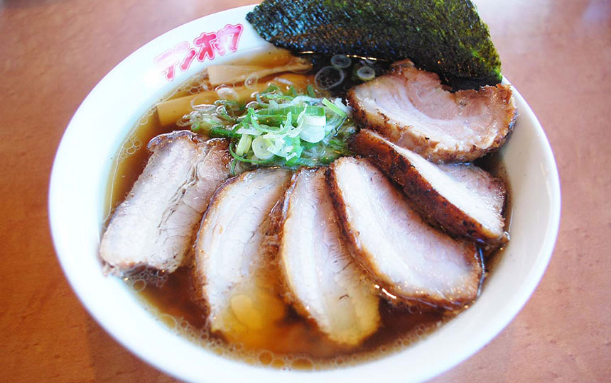 おすすめチャーシュー麺