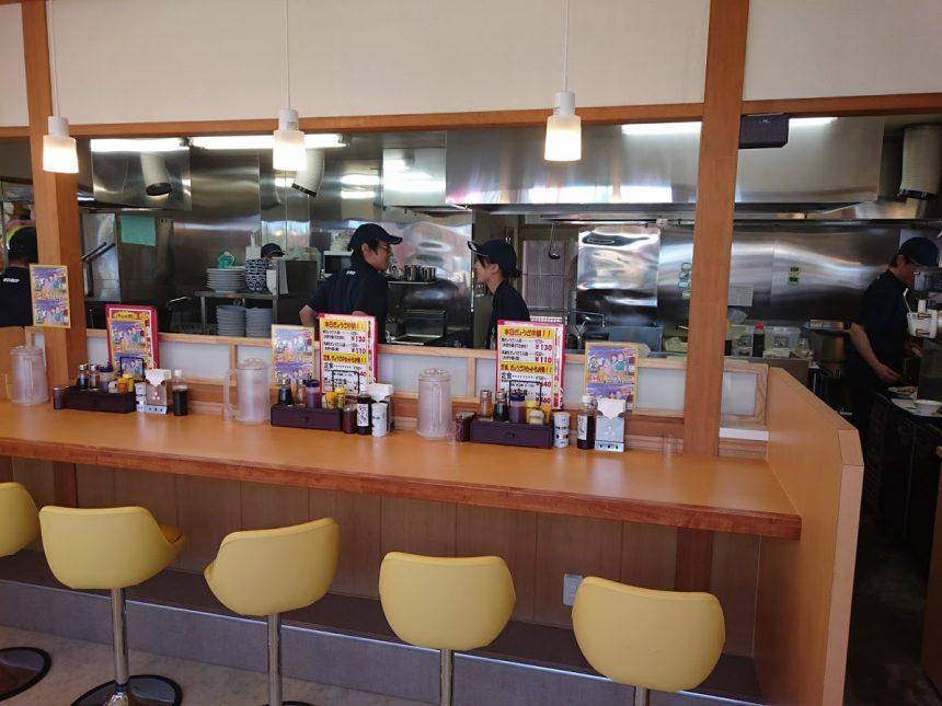 44堀金 カウンター厨房