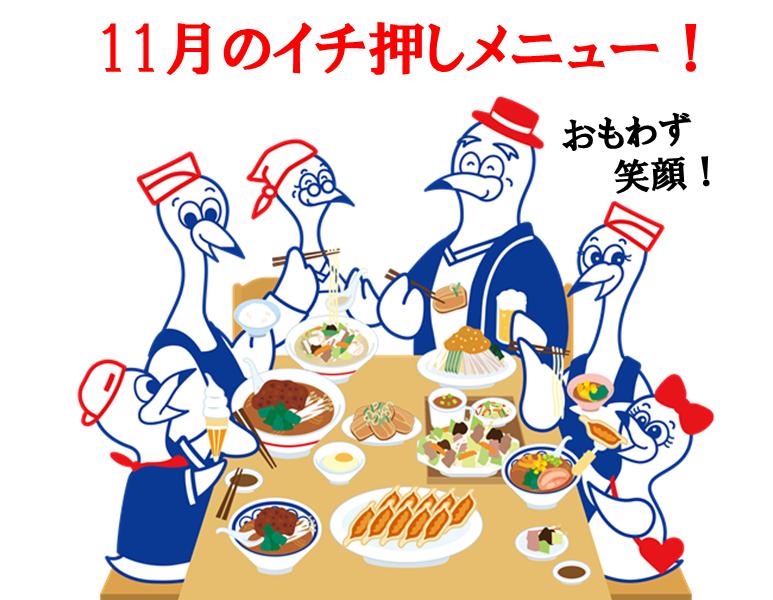 11月のイチ押し商品ご紹介!